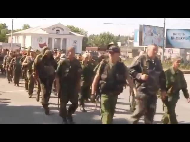 Донские казаки идут на помощь к братьям славянам Донбасса