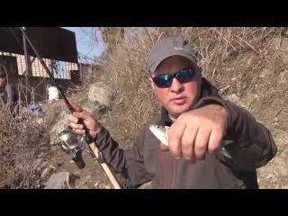 Первая весенняя фидерная рыбалка. Мастер-класс 283HD. The first spring feeder fishing