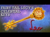 Leo |  How to Make: Lucy's Celestial Key (Gate Key) from Fairy Tail | Polymer Clay