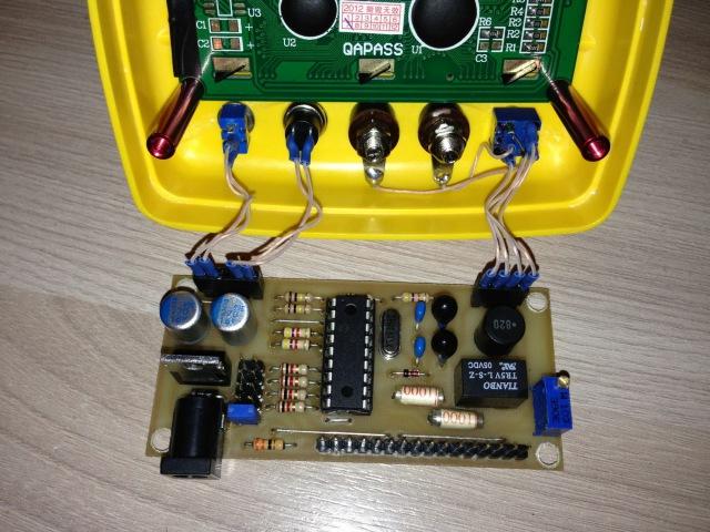 Самодельный измеритель емкости и индуктивности на микроконтроллере PIC 16F628A PIC16F84