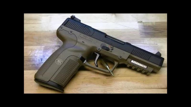 Пистолет FN Five-seveN детальный обзор