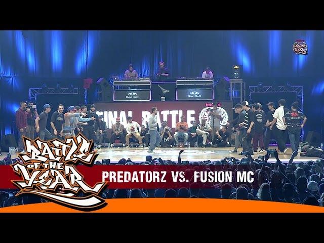 INTERNATIONAL BOTY 2014 - FINAL - PREDATORZ (RUSSIA) VS FUSION MC (KOREA) [BOTY TV]
