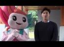 잘생겼다~멋지다~동방신기 유노윤호의 광주U대회 응원 메시지
