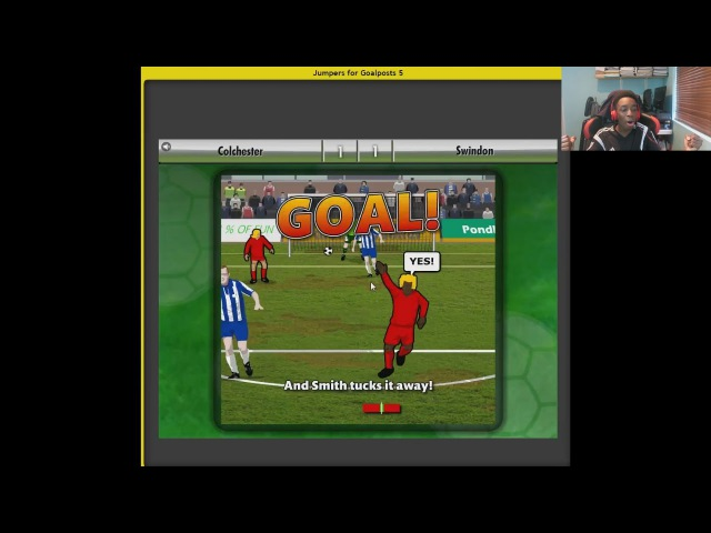JUMPERS FOR GOALPOSTS by FIFAManny