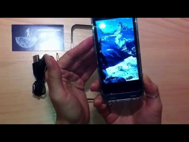 Обзор чехла аккумулятора iFans для iPhone 5/5S модель el-ip5-04 2400мАч