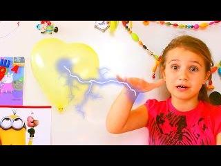 Детский фокус волшебный магнитный шарик
