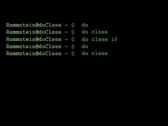 Rammstein - Do Class [ver. 2.0][HQ]
