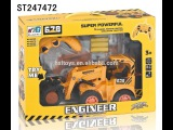 Toy Truck Videos for Children - Toy Bruder Backhoe Excavator, Crane Truck,Car for Kids and Tractor