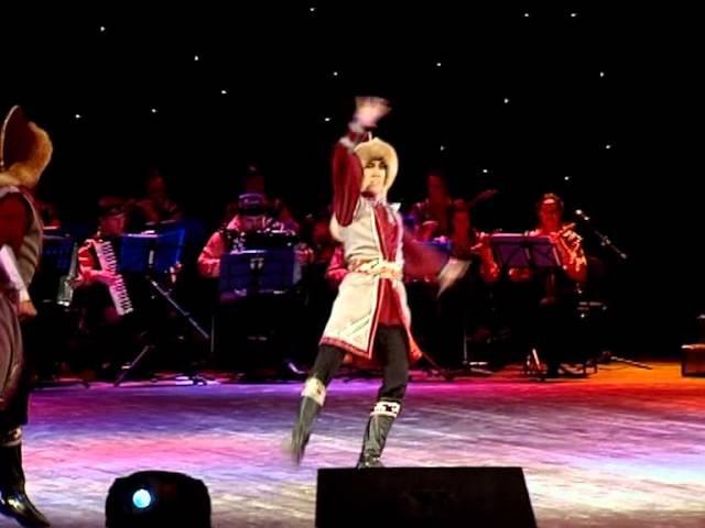 Башкирский танец воинов Султанаков - Мирас