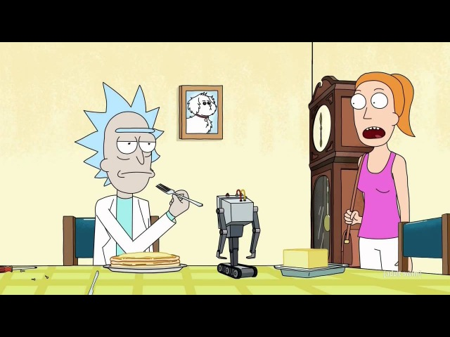 Rick Morty - Pass the Butter
