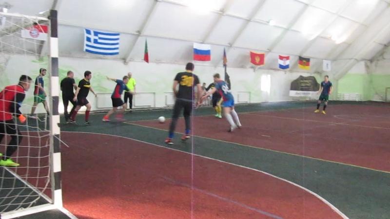 Кубок ПД БМФЛЛ. 6-й тур (28.02.2016) Аристократы - Фортуна 3:10
