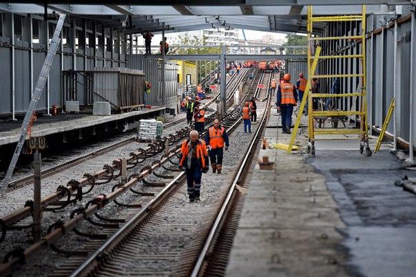 Участок второго кольца метро от станции «Деловой центр» до «Петровского парка» введут в строй в 2016 г.