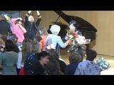 Гела и цветы в Храме Христа Спасителя 6.11.2015