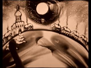 Александра Заболовская. Песочная анимация