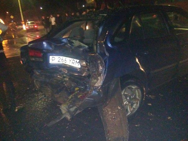 ЧП произошло вчера вечером на ул.Ленина-Гагарина. Водитель автобуса «МAN»