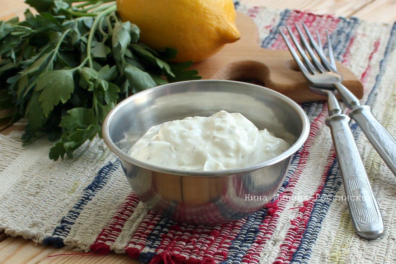 Соус для долмы рецепт с пошагово
