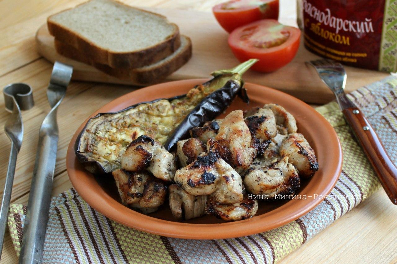 Шашлык из свиной лопатки рецепт пошагово