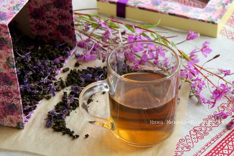Иван-чай или кипрей ферментированный гранулированный