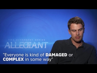 Theo james_ i know all my allegiant costars darkest secrets