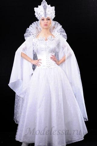 Костюм снежная королева фото своими руками