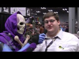 Skeletor Meets PETER GRIFFIN at the New York Comic Con 2013