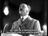 Adolf Hitlers speech (with english subtitles)