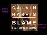 Calvin Harris feat. John Newman Blame (Tony Moss Acoustic Cover)