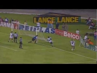Vasco 0 x 1 Corinthians - Gol de falta de Marcelinho - Campeonato Brasileiro de 1998