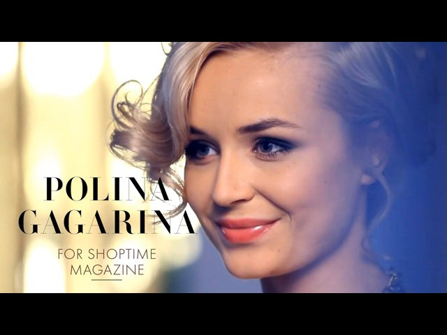 Polina Gagarina for ShopTime magazine Backstage