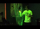 Tetris Theme on Laser Harp Theremin Hero LIVE Finale Gamecity 5 Nottingham