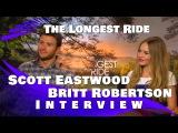 Scott Eastwood and Britt Robertson Interview:The Longest Ride