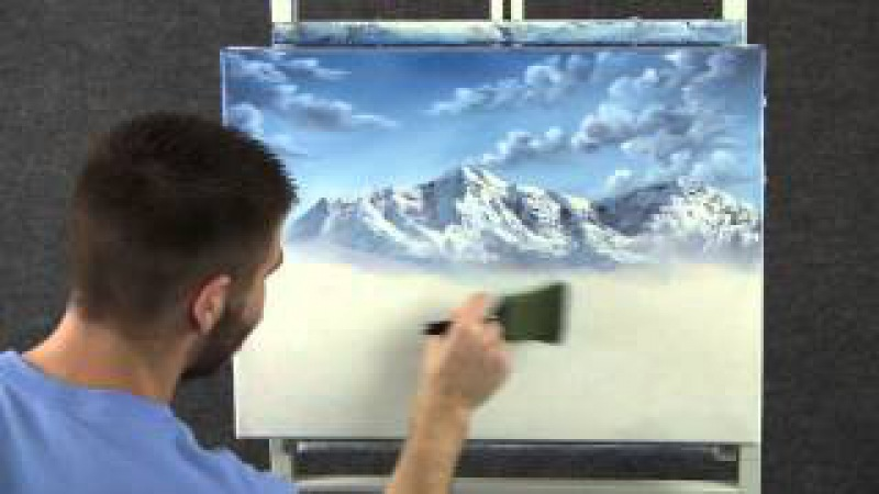 Paint with Kevin Hill - Lake in the Mountains