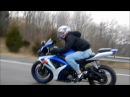 585hp 2003 Whipple Mustang Cobra Vs. 2006 Gsxr 600 Awesome Race!