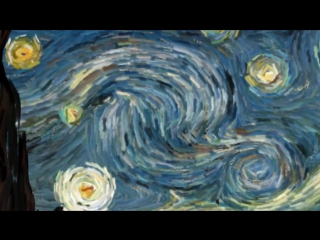 Интерактивная картина Ван Гога