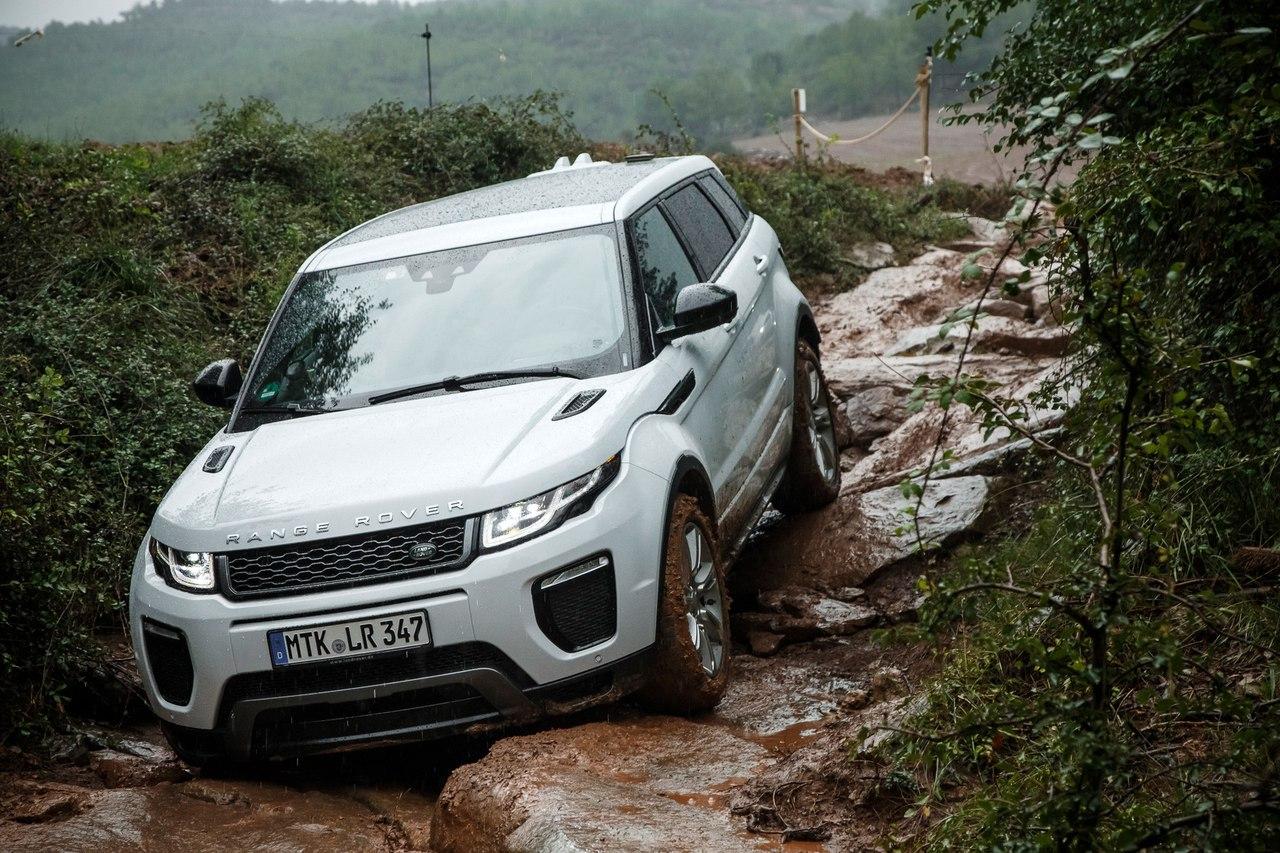 ���� ������������ Range Rover Evoque