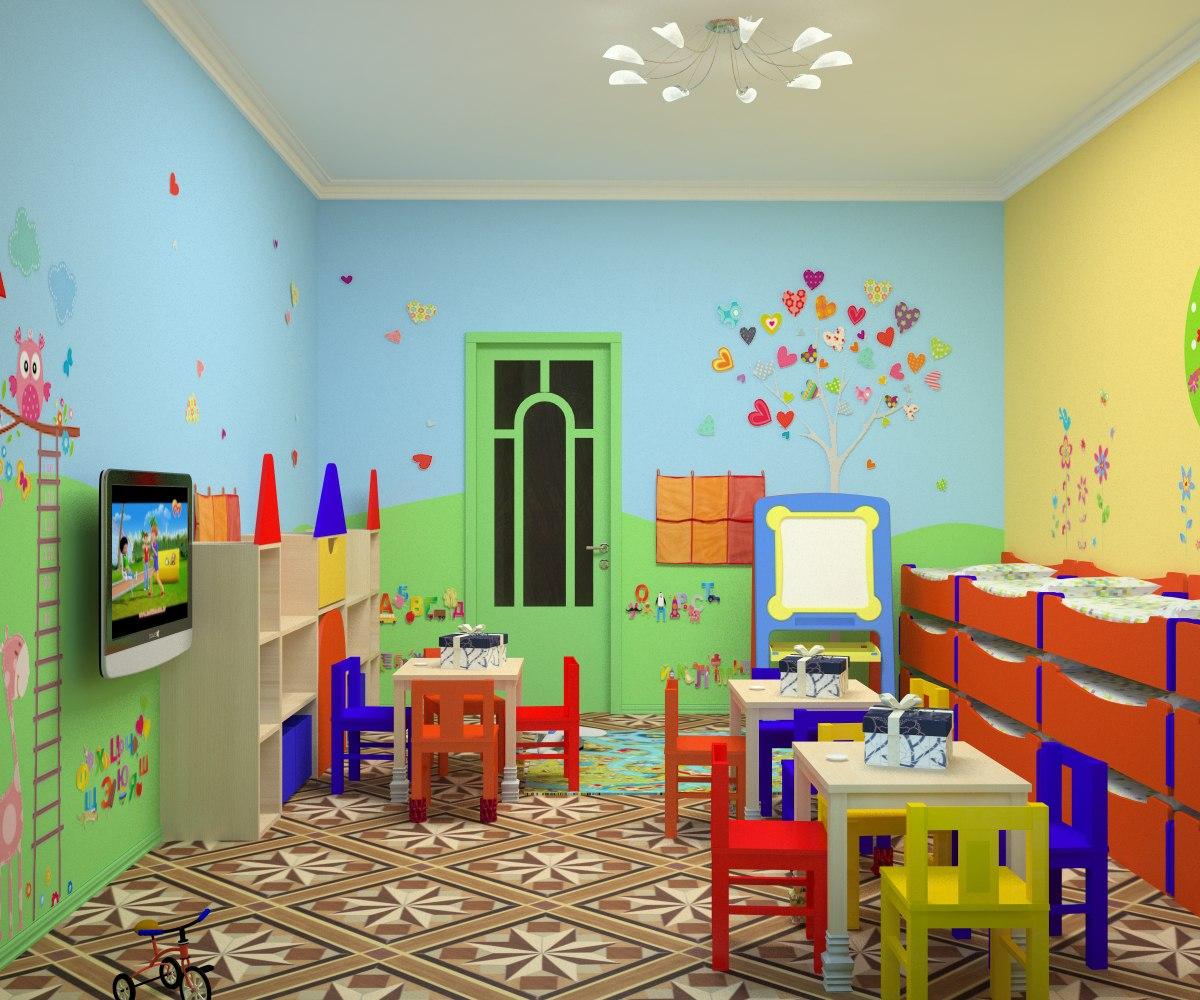 Оформление игровой комнаты в детском саду своими руками 84