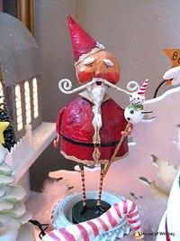 Дед мороз из папье маше своими руками