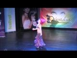 Orientalna Kontrabanda 2014 - Weronika Sahar Litwin on Gala Show - Drum Solo