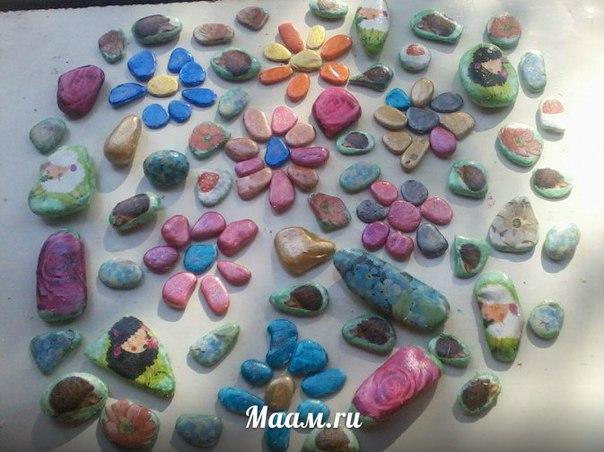 Поделки из ракушек и морских камней своими руками фото