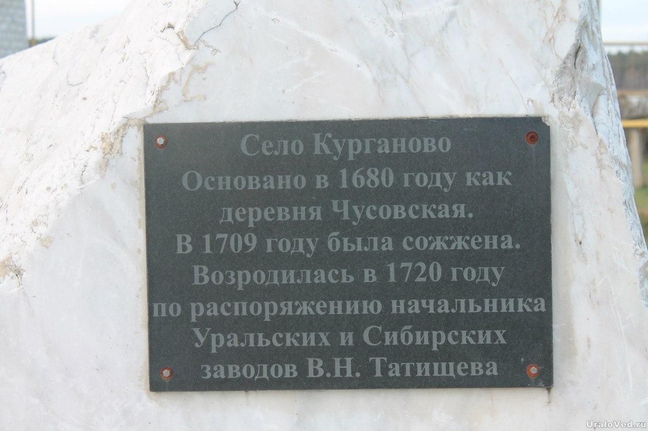 Памятник в Курганово