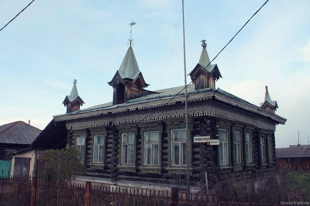 Домик в Мраморском 1902 года постройки
