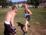 спаринг с турникменом .бокс vs варкаут