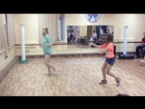 Катя Старшова танцует  под песню Loreen-Euphoria