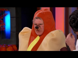 "Harrison Ford Talks About Star Wars- The Force Awakens"" in a Hotdog Costume"
