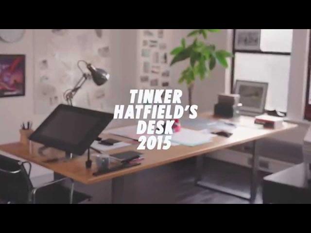 Air Max Day: Tinker Hatfield's Desk