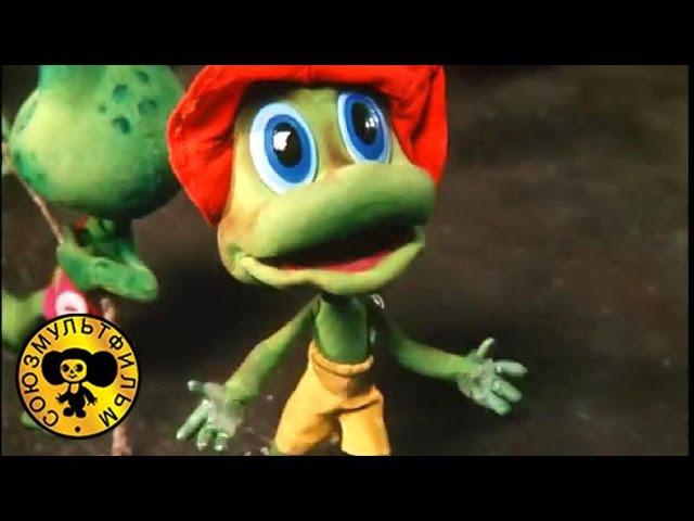 Три лягушонка №1 Мультфильм для малышей