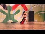 Nika Mlakar - Tango oriental solo (World Champion in show bellydance 2013)