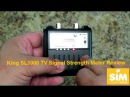 Using the King SL1000 TV Signal Strength Meter In A Truck Camper Or A RV