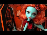 Обзор куклы Monster High Lorna McNessie Лорна Макнесси на русском языке