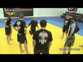Бувайсар Сайтиев дал мастер-класс бойцам ММА Vaysport.com